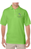 G880 Gildan Adult 6 oz., 50/50 Jersey Polo Chesterbook Academy