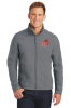L- Soft Shell Jacket -Battleship Grey Denver Christian