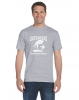 D - Denver Christian Defenders Sports Grey T-shirt Denver Christian