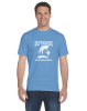 B - Denver Christian Defenders T-shirt Carolina Blue Denver Christian