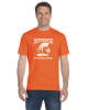 C - Denver Christian Defenders Tangerine T-shirt Denver Christian