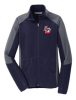 F230 Men�s Navy/Grey Micro Fleece Jacket Lincoln Charter School
