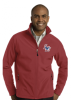J317RED - Men's Soft Shell Jacket Lincoln Charter School