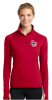 LST850 - Sport-Tek® Ladies Sport-Wick® Stretch 1/2-Zip Pullover-True Red  Lincoln Charter School