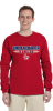 G240B-G240 - Red Regular Cotton Tee Long Sleeve - YOUTH - ADULT Lincoln Charter School