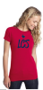 DT5001-District® - Juniors The Concert Tee-New Red Lincoln Charter School