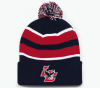 10 - 641K Loose-Fit Pom-Pom Knit - Navy, Red, White Lincoln Charter School