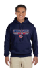 opyG185 -Navy 50/50 Hooded Sweat Shirt - YOUTH - ADULT Lincoln Charter School