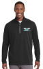 Sport-Tek® Sport-Wick® Men Textured 1/4-Zip Pullover MedCenter Air