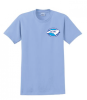 G200 - Light Blue T-Shirt NC Society for Respiratory Care
