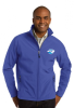 J317 - Soft Shell Jacket - True Royal NC Society for Respiratory Care