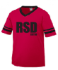 SLEEVE STRIPE JERSEY - RSD EST. 68 Rhonda's School of Dance