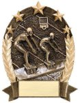 5 Star Oval  Swimming 5 Star Oval Resin Trophy Awards