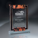 Large Digi-Color Lucite Award Achievement Awards