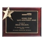 Corner Star Plaque Achievement Awards