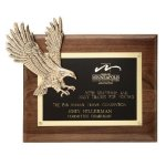 Soaring Eagle Plaque Achievement Awards