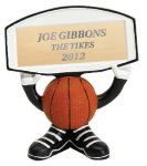 Ball Head Basketball Resin Figure Ball Head Resin Trophy Awards