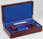 Gavel In Wood Box Boss Gift Awards