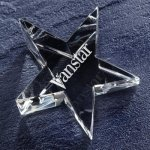 Optic Star Paper Weight Boss Gift Awards