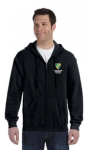 G186 Gildan Adult Heavy Blend 8 oz., 50/50 Full-Zip Hood  Chesterbook Academy