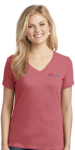 LPC54V Port & Company Core Cotton V-Neck Tee CMS - Pre-K Programs