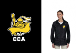M765W - Harriton Ladies Essential Rainwear - Black Cramerton Christian Academy