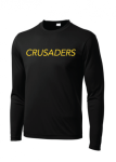 ST350LS - Sport-Tek Long Sleeve PosiCharge Competitor Tee - Black Cramerton Christian Academy