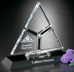 Amour Award Crystal Glass Awards