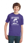 B1 - Denver Christian Defenders T-shirt Purple Denver Christian