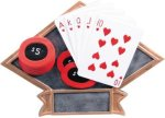 Poker Diamond Plate Resin  Diamond Awards