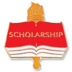 Scholarship Lapel Pin Education Trophy Awards