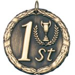 1st Place Gold Education Trophy Awards