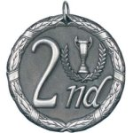 2nd Place Silver Education Trophy Awards