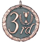 3rd Place Bronze Education Trophy Awards