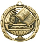 Scholastic Medal Elegantly Sculpted Medal Awards