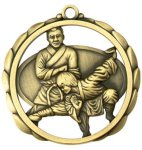 Karate Medal Elegantly Sculpted Medal Awards