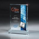 Medium Digi-Color Lucite Award Employee Awards