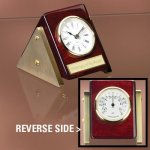 Reversible Clock Thermometer Executive Gift Awards