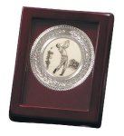 Nickel Plated Golf Medallion Golf Awards