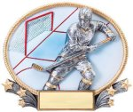 3D Oval Hockey M Hockey Trophy Awards