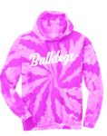 6-PC 146 Youth and Adult Pink Tie-Dye Hoodie Huntersville Elementary