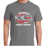 PC55 Short Sleeve T-shirt - Medium Gray Lincoln Charter Cross Country