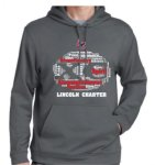 F244 Sport-Wick® Fleece Hooded Pullover Deep Smoke Lincoln Charter Cross Country