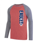 2815 - MEN'S KINERGY TWO COLOR LONG SLEEVE RAGLAN TEE  Lincoln Charter School