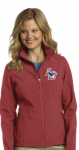 L317RED - Ladies Soft Shell Jacket Lincoln Charter School