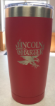 07 - LTM923 Red Tumbler Lincoln Charter School