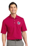 K455 - Men's Red Poly/Cotton Blend Heavyweight Polo Lincoln Charter School