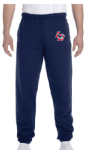 4950BP - Youth 9.5 oz Elastic Bottom Pocketed Sweatpants Lincoln Charter School