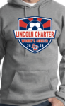 02-PC90H Port & Company - Essential Fleece Pullover Hooded Sweatshirt Lincoln Charter Womens Soccer