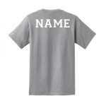 04-Name on Back - Tee-Hoodie Lincoln Charter Womens Soccer